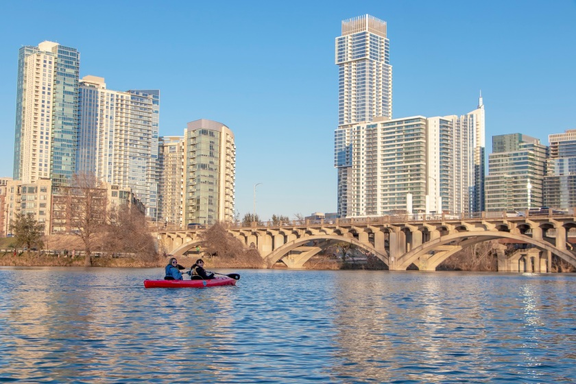SHSU, LEAP Ambassadors, LEAP Center, Austin Texas, ATX, Kayaking