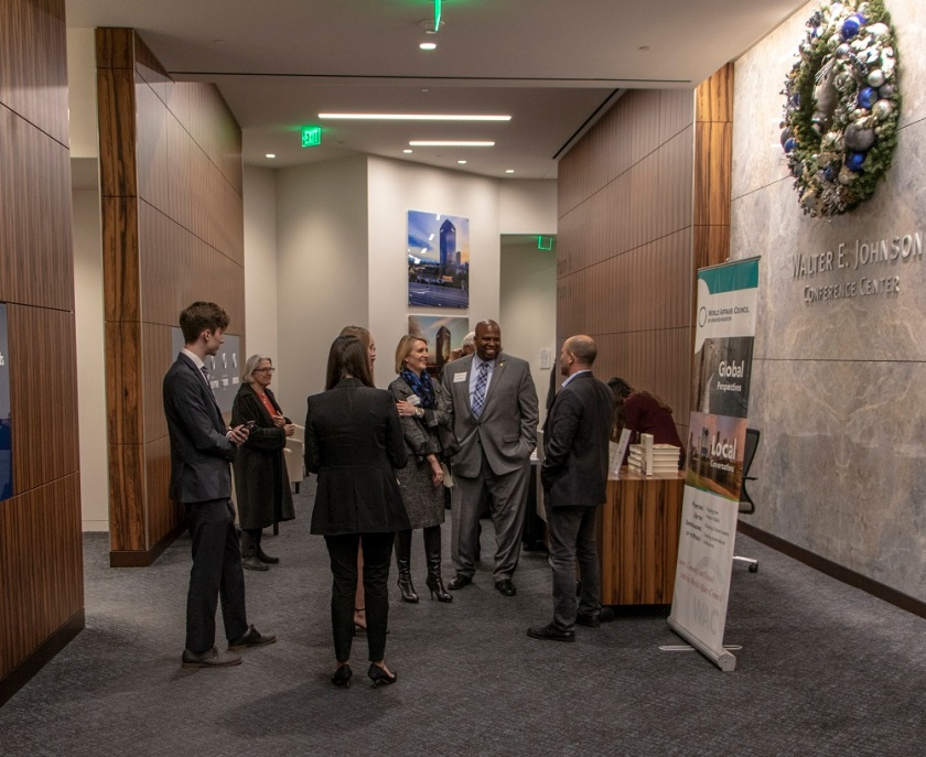 SHSU, LEAP Center, LEAP Ambassadors, World Affairs Council Houston, Ben Rhodes
