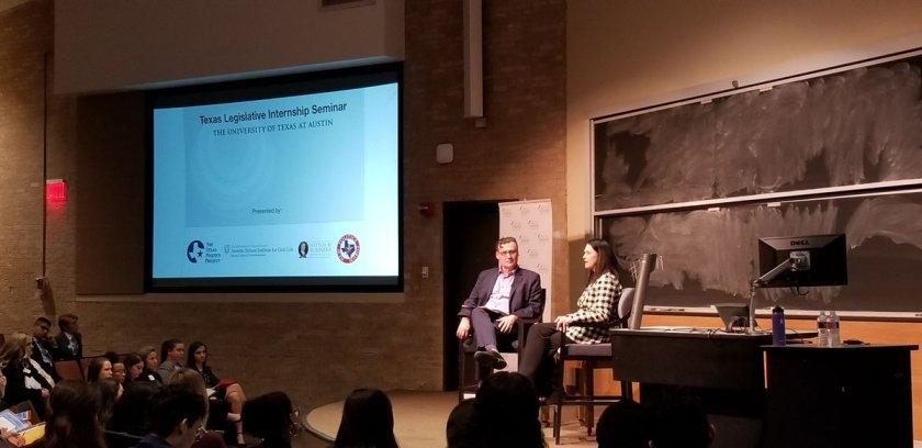 SHSU, LEAP Center, LEAP Ambassadors, SHAIP, Sam Houston Austin Interns, Texas Politics Project, Kathy Grant