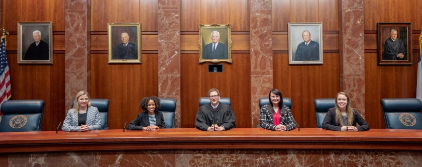 SHSU, LEAP Center, LEAP Ambassasors, Texas Supreme Court, TXSC, Justice Jeff Boyd