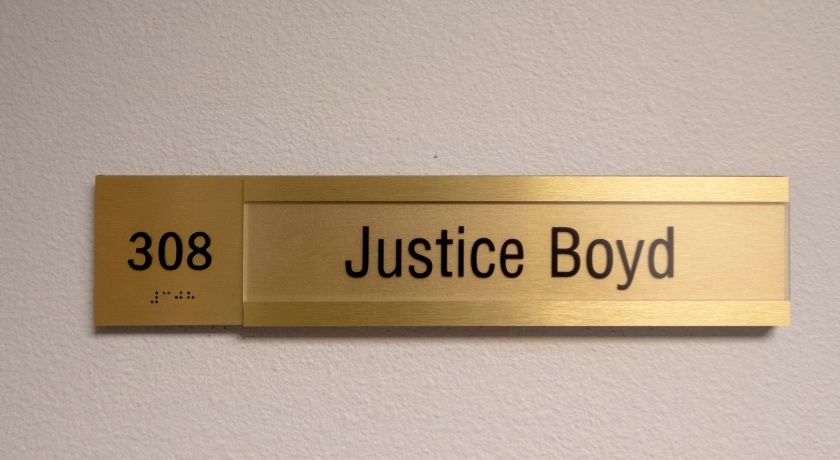 SHSU, LEAP Center, LEAP Ambassasors, Texas Supreme Court, TXSC, Justice Jeff Boyd