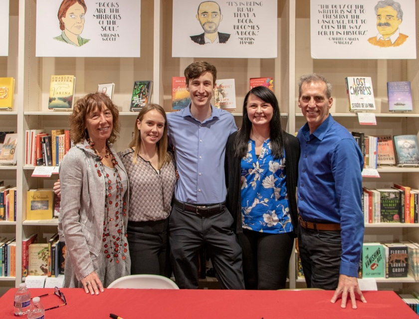 SHSU, LEAP Center, LEAP Ambassadors, Brazos Bookstore, Barbara Shapiro, Tim Johnston, THe Collectors Apprentice, The Current