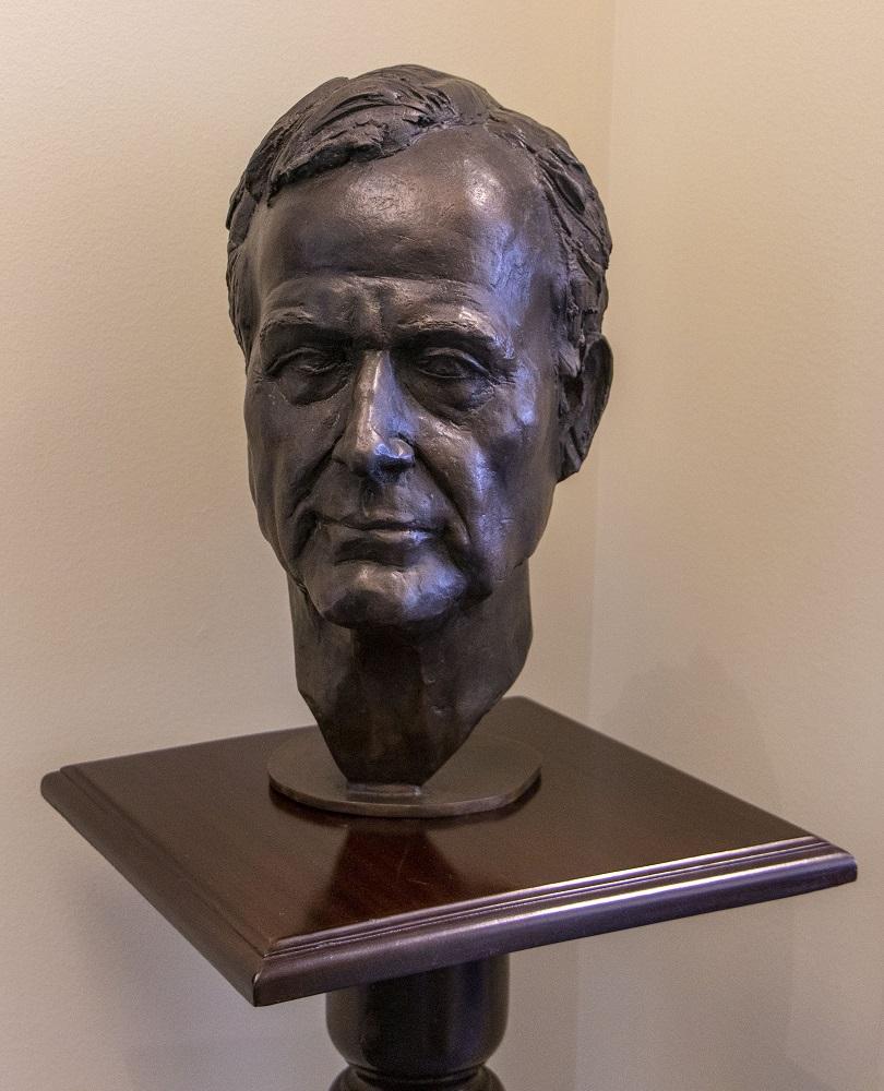 SHSU, LEAP Center, LEAP Ambassadors, President George H. W. Bush, Presidents Day,  Jean Becker, Mark Burns