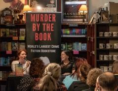 SHSU, LEAP Center, LEAP Ambassadors, Murder by the Book, Jane Harper, Amelia Passanza, The Lost Man
