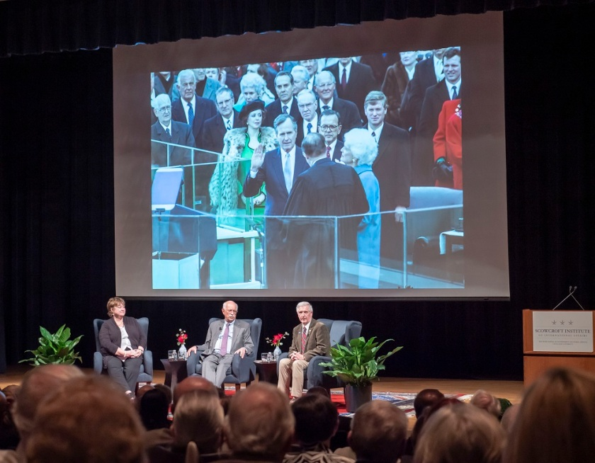 SHSU, LEAP Center, LEAP Ambassadors, Presidents Day, Andrew Card, Jean Becker, Andrew Natsios, Professor Jim Olson