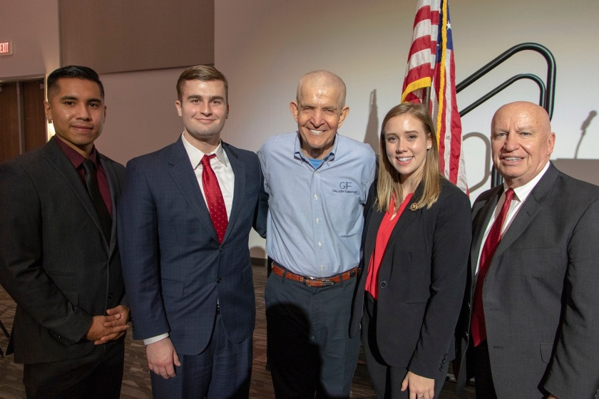 SHSU, LEAP Center, LEAP Ambassadors, Walker County Republican Party, Reagan Dinner, Mattress Mack, Russell Martinez, Kevin Brady, Ernest Bailes, Charles Schwertner