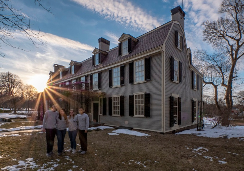 SHSU, LEAP Center, LEAP Ambassadors, New England, Massachusetts, John Adams House