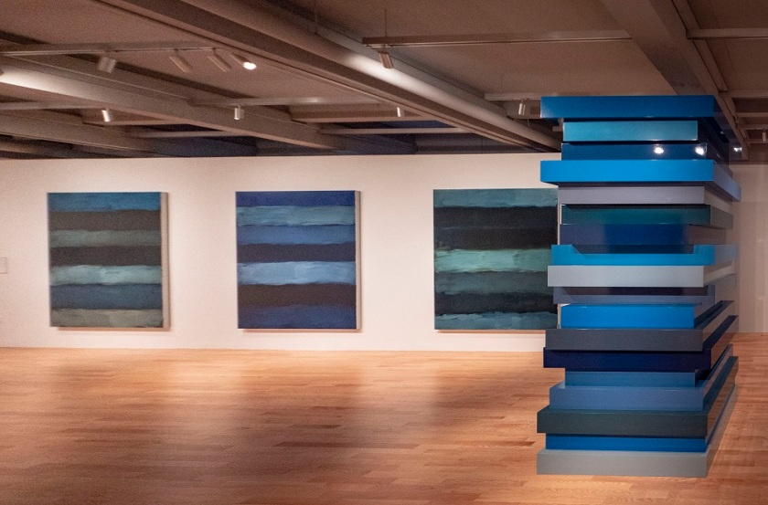 SHSU, LEAP Center, LEAP Ambassadors, New England Tour, Hartford CT, Wadsworth Atheneum, Sean Scully