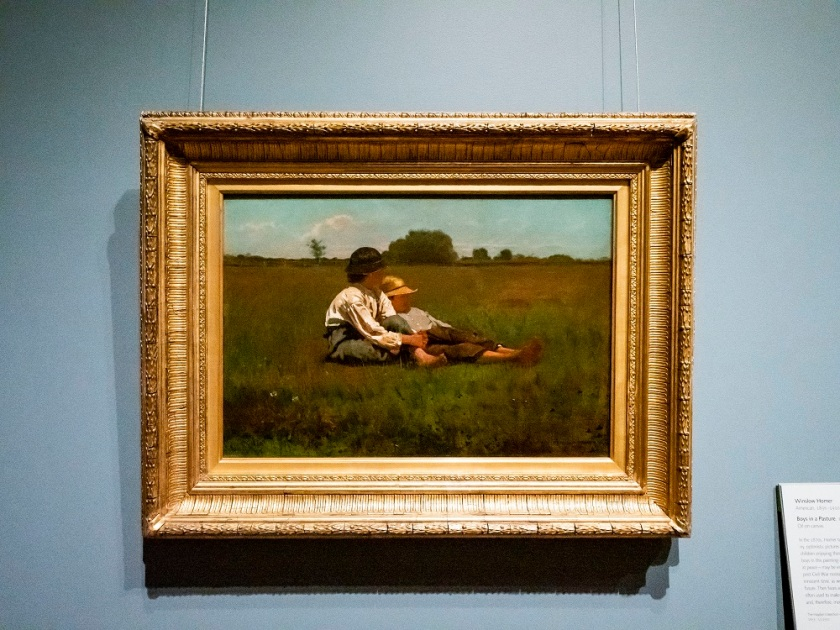 SHSU, LEAP Center, LEAP Ambassadors, New England, Massachusetts, Boston, Boston Museum of Fine Arts, Winslow Homer