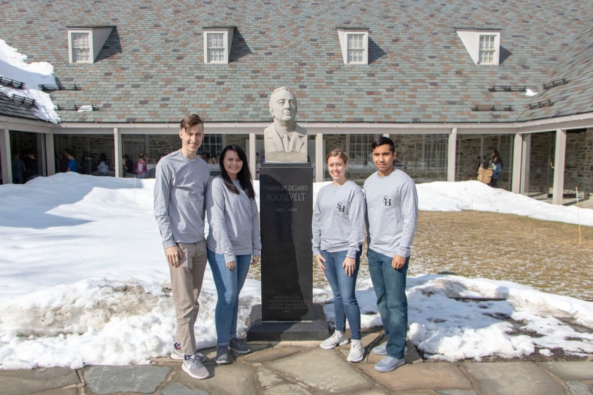 SHSU, LEAP Center, LEAP Ambassadors, FDR Presidential Library and Museum, Franklin Delano Roosevelt, Hyde Park, Poughkeepsie