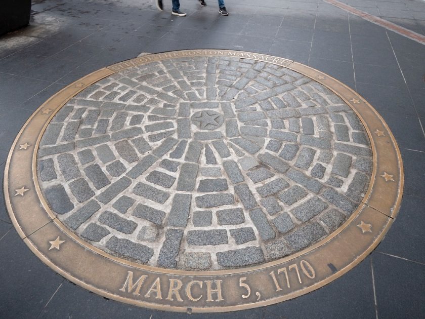 SHSU, LEAP Center, LEAP Ambassadors, Boston MA, Freedom Trail, Boston Massacre Memorial