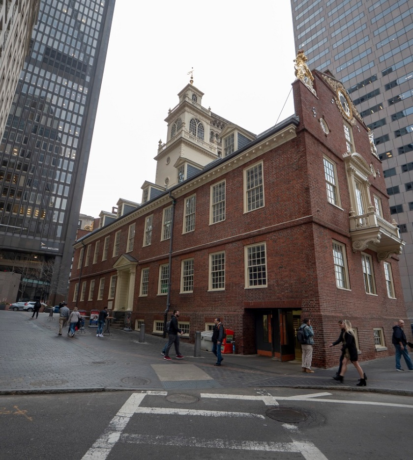 SHSU, LEAP Center, LEAP Ambassadors, Boston MA, Freedom Trail, Old State House