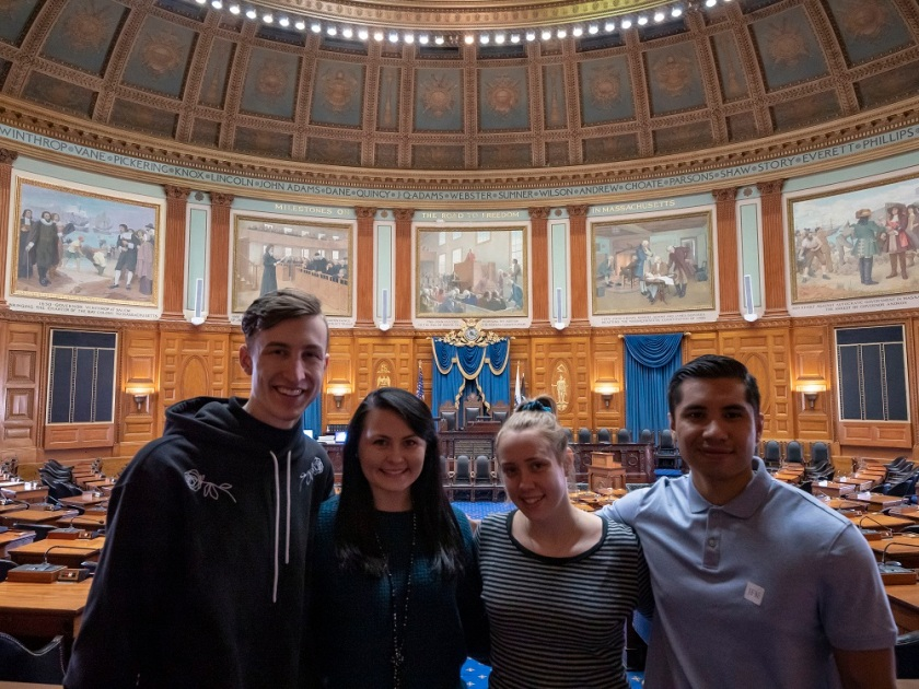 SHSU, LEAP Center, LEAP Ambassadors, Boston MA, Massachusetts State House