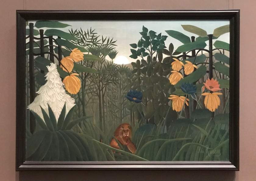 SHSU, LEAP Center, LEAP Ambassadors, New York City, The Met, Henri Rousseau