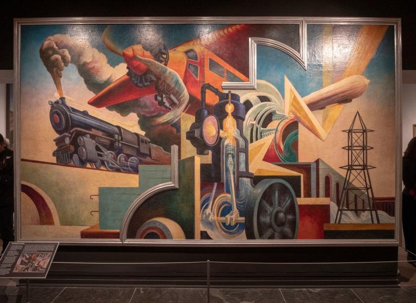 SHSU, LEAP Center, LEAP Ambassadors, New York City, The Met, Thomas Hart Benton