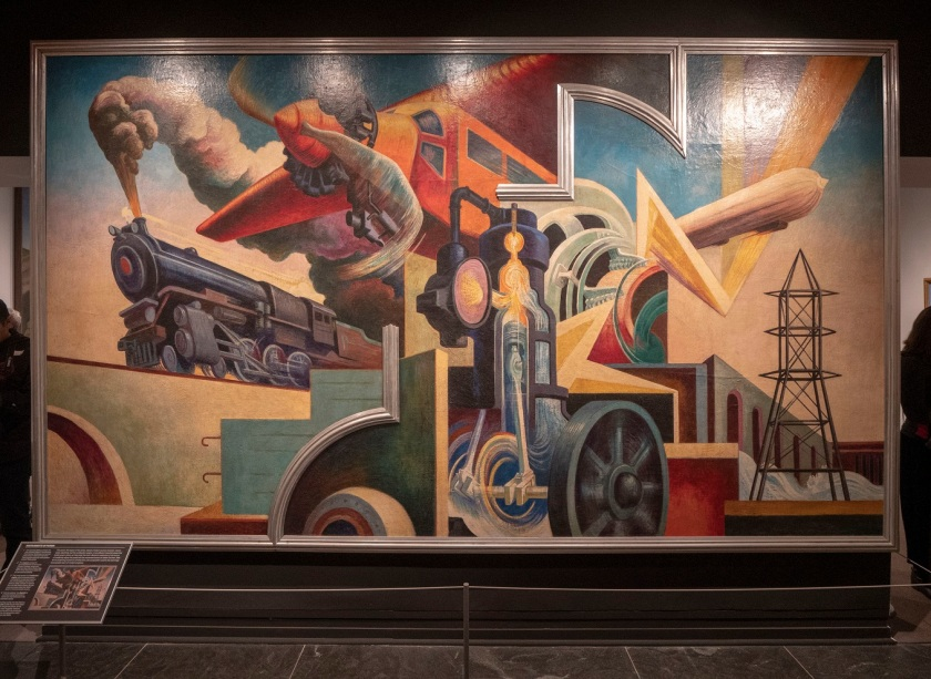 SHSU, LEAP Center, LEAP Ambassadors, New York City, The Met, Thomas Hart Benton