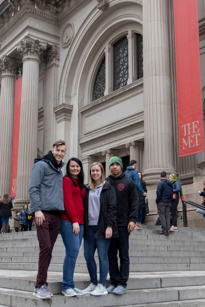 SHSU, LEAP Center, LEAP Ambassadors, New York City, The Met