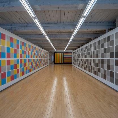 SHSU, LEAP Ambassadors, LEAP Center, MASS MOCA, Museum of Contemporary Arts, North Adams, Sol LeWitt