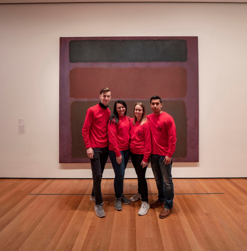 SHSU, LEAP Center, LEAP Ambassadors, New York City, Museum of Modern Art, Mark Rothko