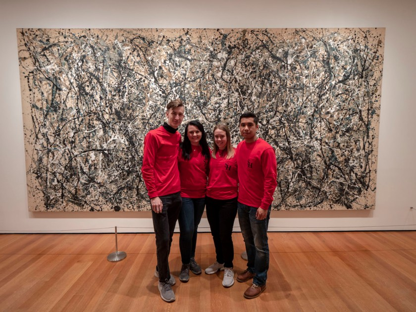 SHSU, LEAP Center, LEAP Ambassadors, New York City, Museum of Modern Art, Jackson Pollock,