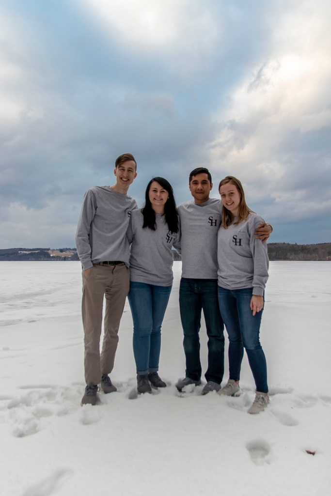 SHSU, LEAP Ambassadors, LEAP Center, Frozen Lake