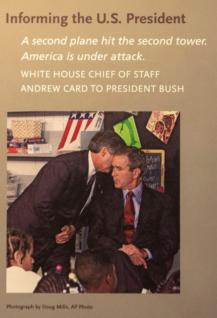 SHSU, LEAP Center, LEAP Ambassadors, New York City, 9-11 Memorial , President George W. Bush, Andrew Card