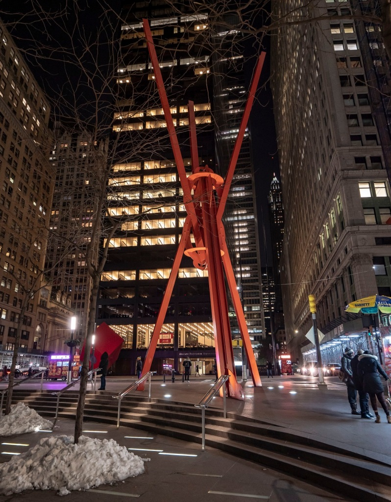 SHSU, LEAP Center, LEAP Ambassadors, New York City, Mark di Suvero