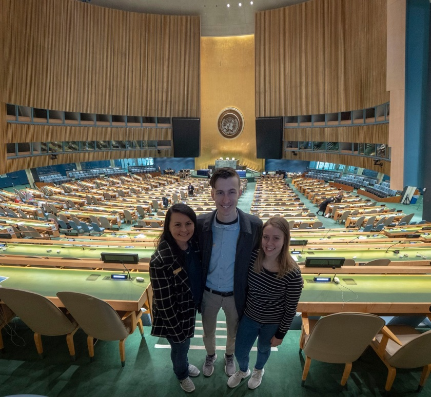 SHSU, LEAP Center, LEAP Ambassadors, New York City, United Nations, General Assembly