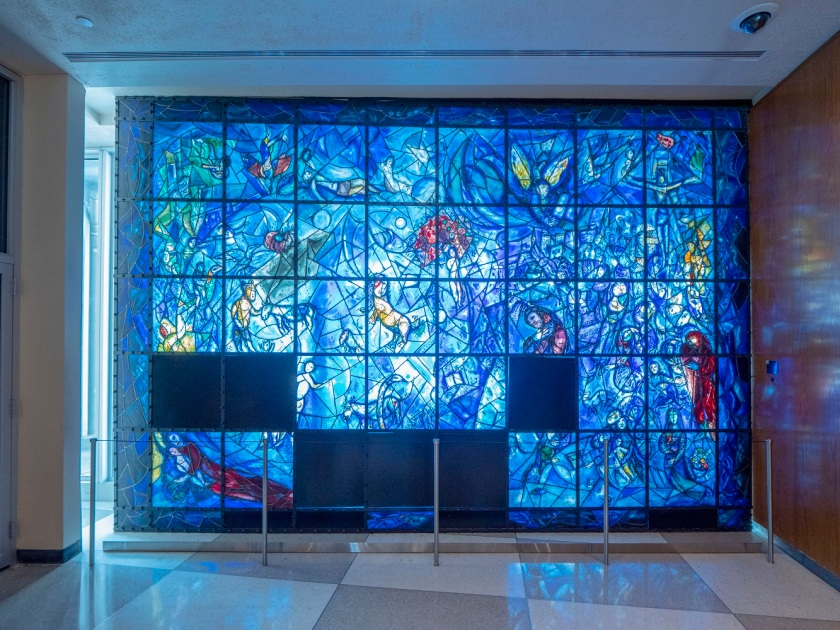 SHSU, LEAP Center, LEAP Ambassadors, New York City, United Nations, Marc Chagall, Stained Glass