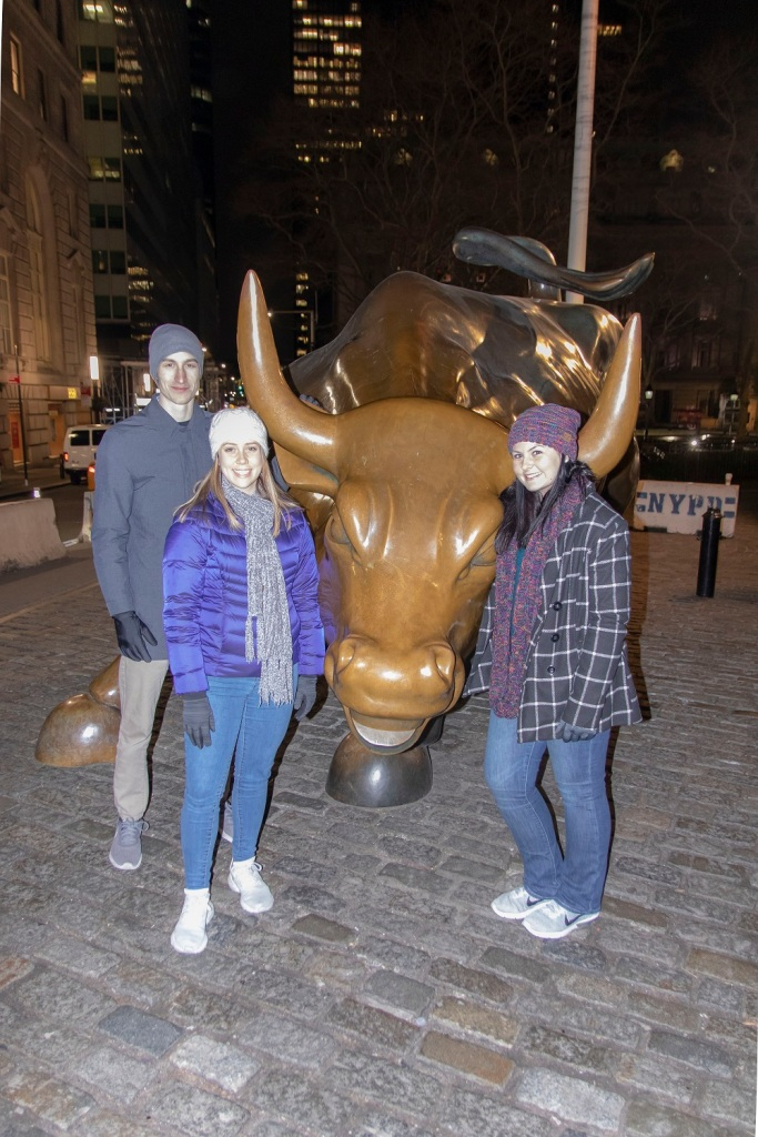 SHSU, LEAP Center, LEAP Ambassadors, New York City, Wall Street, Charging Bull