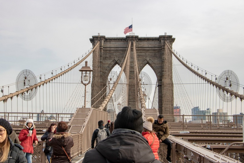 SHSU, LEAP Center, LEAP Ambassadors, New York City, Brooklyn Bridge