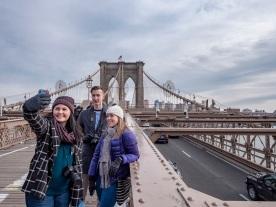 SHSU, LEAP Center, LEAP Ambassadors, New York City, Brooklyn, Brooklyn Bridge