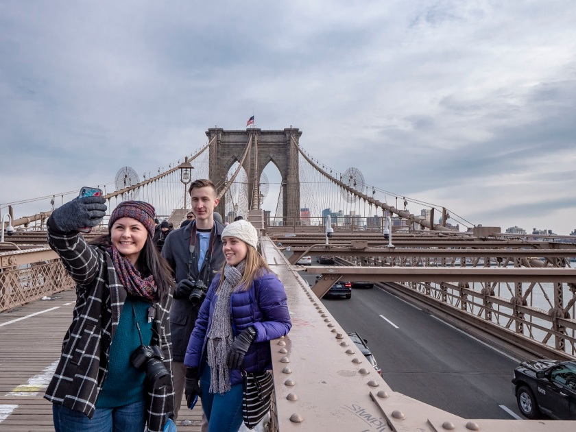 SHSU, LEAP Center, LEAP Ambassadors, New York City, Brooklyn, Brooklyn Bridge