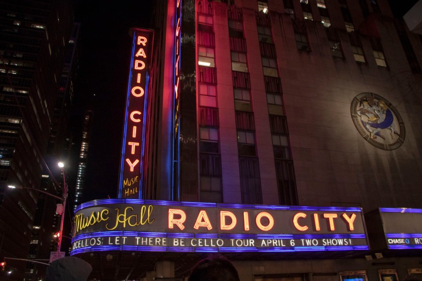 SHSU, LEAP Center, LEAP Ambassadors, New York City, Radio City Music Hall