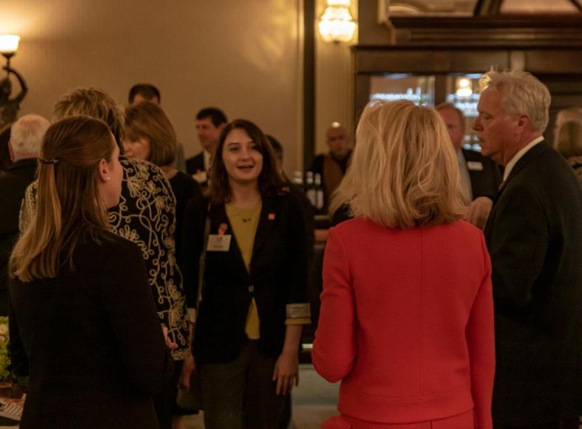 SHSU, LEAP Center, LEAP Ambassadors, Austin Texas, Sam Houston Birthday