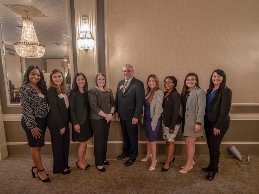 SHSU, LEAP Center, LEAP Ambassadors, Austin Texas, Sam Houston Birthday, Dr. Phillip Lyons