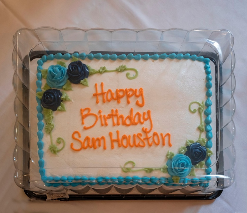 SHSU, LEAP Center, LEAP Ambassadors, Austin Texas, Sam Houston Birthday