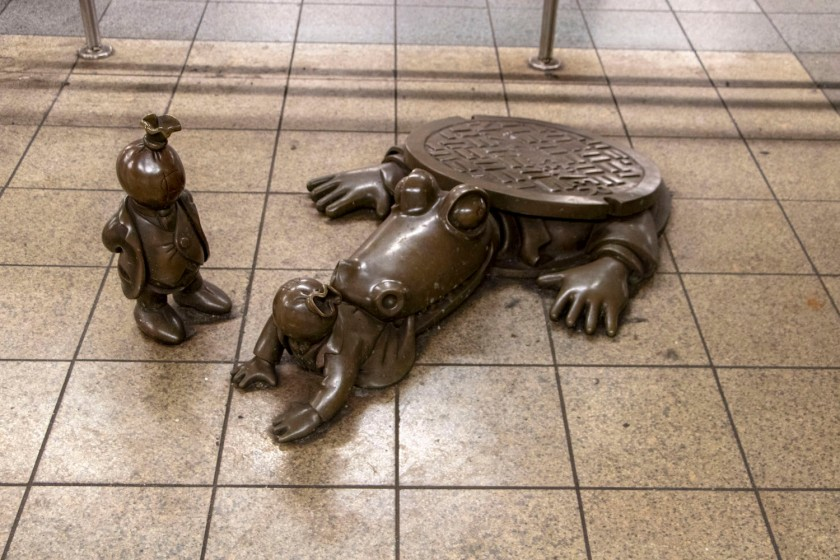 SHSU, LEAP Center, LEAP Ambassadors, New York City, Life Underground, Subway, Tom Otterness