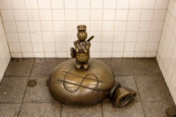 SHSU, LEAP Center, LEAP Ambassadors, New York City, Life Underground, Subway, Tom Otterness