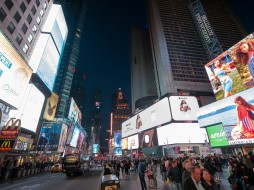 SHSU, LEAP Center, LEAP Ambassadors, New York City, Times Square