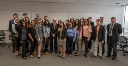 SHSU, LEAP Center, LEAP Ambassadors, Ambassador Chase Untermeyer