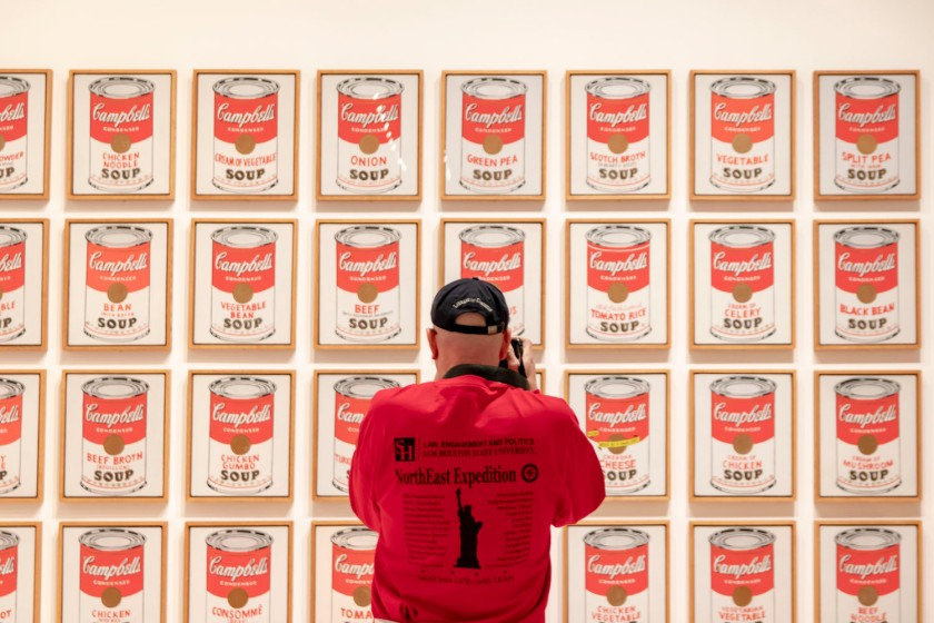 SHSU, LEAP Center, LEAP Ambassadors, New York City, Whitney, Andy Warhol, Campbell's Soup