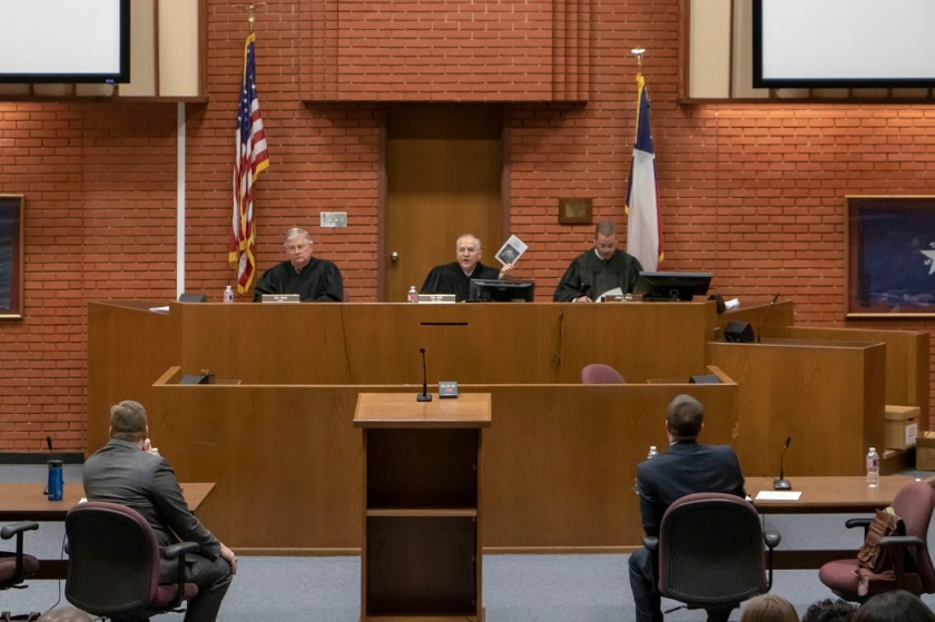 SHSU, LEAP Center, LEAP Ambassadors, 10th Court of Appeals, Chief Justice Tom Gray,