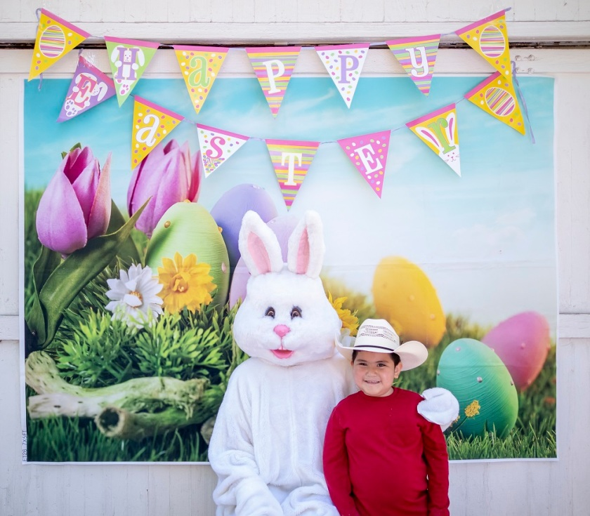 SHSU, LEAP Center, LEAP Ambassadors, Wynne Home Arts Center, Easter Egg Hunt