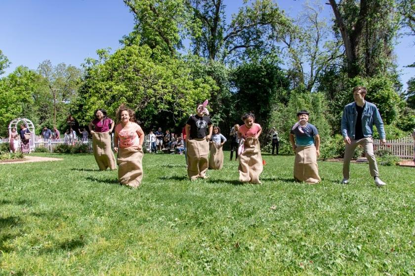 SHSU, LEAP Center, LEAP Ambassadors, Wynne Home Arts Center, Easter Egg Hunt