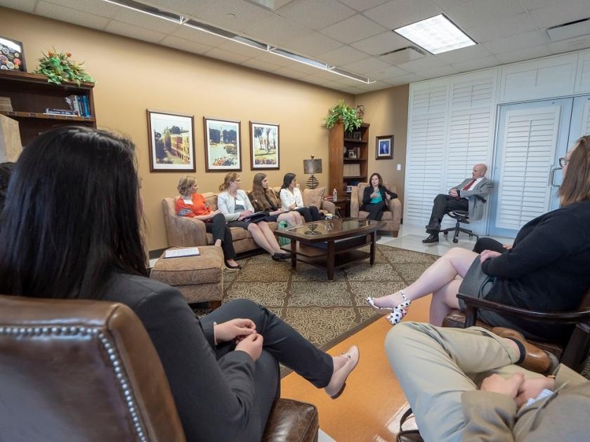 SHSU, LEAP Center, LEAP Ambassadors, Julie Kavanagh, Diplomat In Residence Texas, DIRT