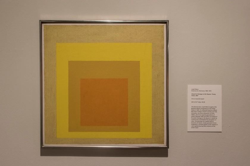 SHSU, LEAP Center, LEAP Ambassadors, Memphis, Brooks Museum of Art. Albers