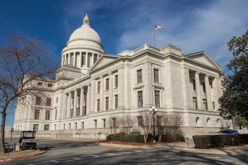SHSU, LEAP Center, LEAP Ambassadors, Little Rock, Arkansas State Capitol