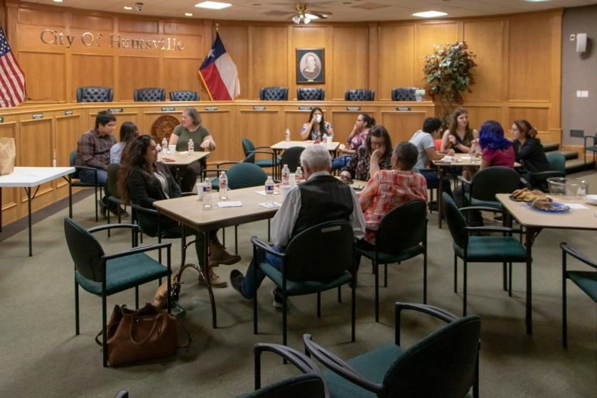 SHSU, LEAP Center, LEAP Ambassadors, Huntsville Public Library, Citizenship, Naturalization