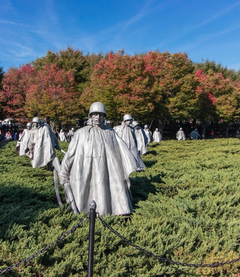 SHSU, LEAP Center, LEAP Ambassadors, Washington DC, Korean Memorial